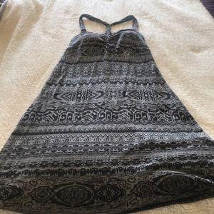 Cross-back Dakini dress with built-in bra.